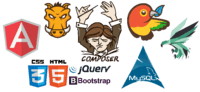 PHP, MySQL, phalcon, JavaScript, HTML5, CSS3, AngularJS, composer, bower, grunt