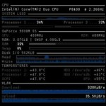 conky, Fedora 13, multiple configuration, CPU, GPU, RAM, SWAP, disk IO, temperature, processor load, system load