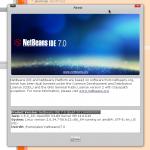 run, netbeans 7.0, Linux, Fedora