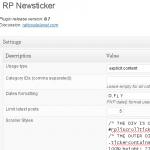 RP News Ticker 0.7
